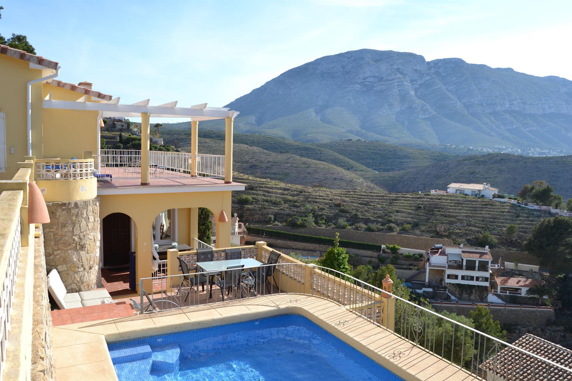 Villa -                                       Denia -                                       3 dormitorios -                                       7 ocupantes