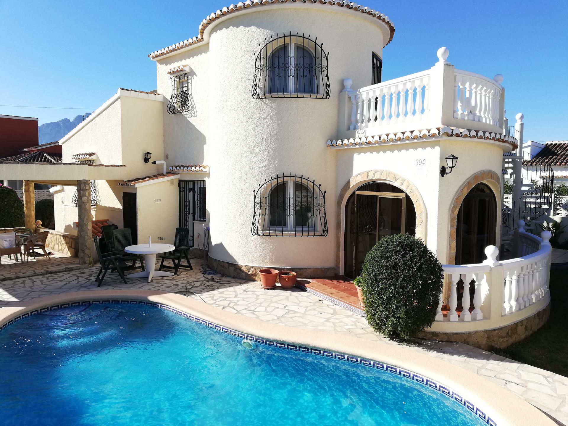 Villa -                                       Denia -                                       3 dormitorios -                                       8 ocupantes